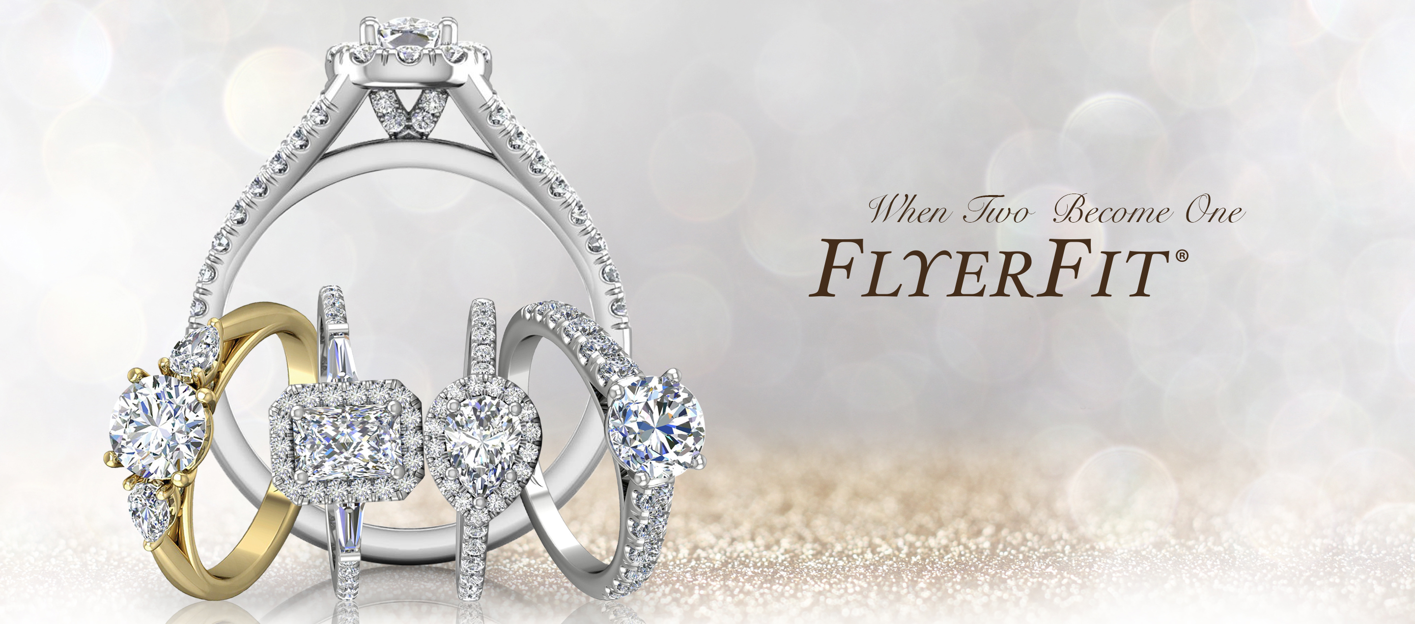 Martin Flyer Handcrafted Engagement Ring Wedding Band Jewelry